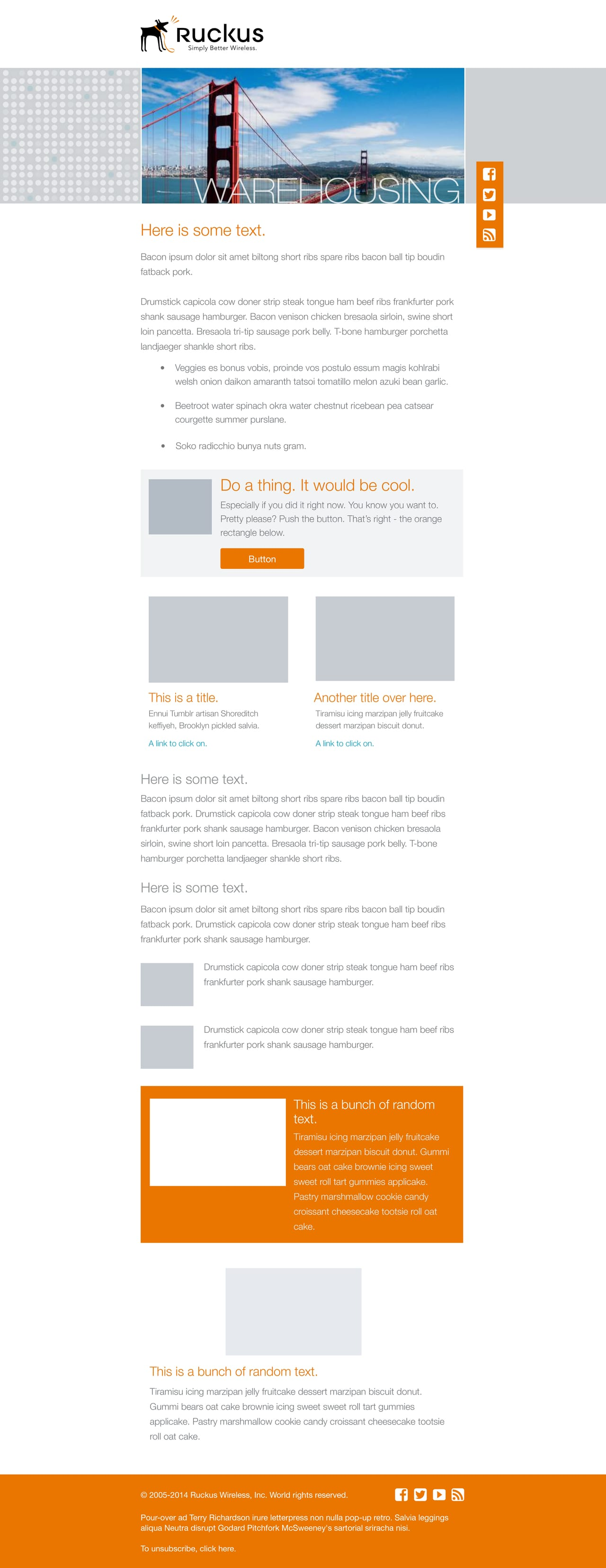 Contemporary Mock Email Template Frieze Certificate Resume - Pretty email templates